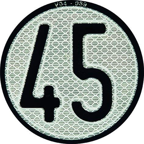 Placa disco limitación de velocidad 45 Km/h para Quad y ATV