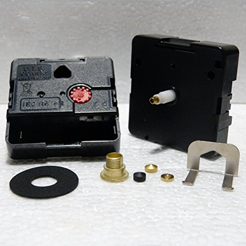 Quarzo Backwards retromarcia in senso antiorario Euroshaft orologio movimento meccanismo Minute Hand Fixing Nut Gold Closed