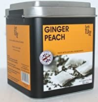 Earth Teaze Ginger Peach 20 Tagged Tea Bags