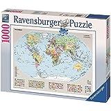 Ravensburger RAVENSbURGER 1000 Teile Puzzle Politische Weltkarte