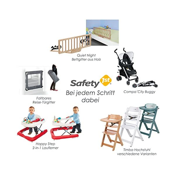 """Safety 1st Secure Tech Auto Close Metal Gate, White Safety 1st One handed opening """"true"""" auto-closing whatever the opening amplitude U-shaped frame with 4 pressure points provides solid fit and doesn't require drilling Secure tech indicator shows the gate is safely locked into place 10"""