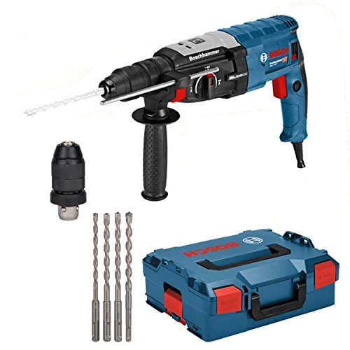 Bosch Bohrhammer Kombihammer GBH 2-28 F SSBF Bohrer Set 6 8 10 12 mm SDS Plus 7