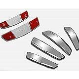 #7: ZESI Status Silver High Gloss Premium Door Edge Guards Set of 4-(Made in KOREA)