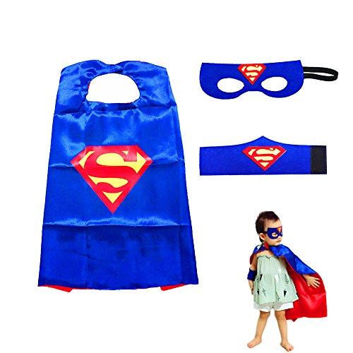 Costumes de Super Héros pour Enfants LMYTech Masque de Cape...