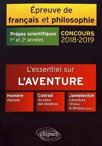 Conrad Coeur Des Tenebres - L'essentiel sur l'aventure. Homère, Odyssée - Conrad,