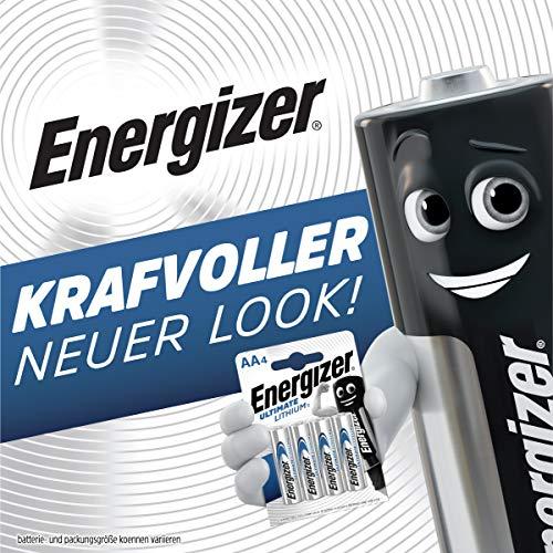 Energizer Batterie Lithium Mignon AA (1,5Volt 4er-Packung) - 2