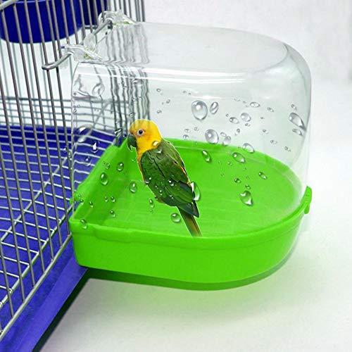 pretty-H Papagei Bad Vogel Bad Vogel Zubehör für Haustier Papageien, Vogelkäfig Papagei Zubehör Bad Badewanne Badewanne für Vögel
