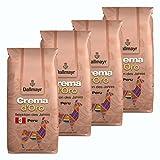 Dallmayr Crema d 'Oro Peru, Selektion des Jahres 2018, Bohnenkaffee, Röstkaffee, Kaffee, ganze Bohnen, Kaffeebohnen, 4 x 1000 g