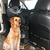 Newmeil Hunde Rücksitz Barriere Hundenetz für Autoreise sicherheit Stabil Robust 37*72cm