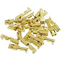 DealMux 2,8 Terminales mm conectores hembra Spade cable de alambre, 20 Pieza