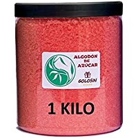 Algodón de Azúcar - Especial para máquinas de Nubes de Azúcar - Sabor FRESA - 1 Kg.