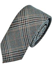 EOZY Cravate Hommes 6cm Cravates Mince Satin Costume Mariage Chemises Soirée
