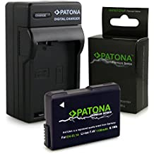 Chargeur + Batterie EN-EL14 / EN-EL14a pour Nikon D3100 | D3200 | D5100 | D5200 | D5300 - Nikon Coolpix P7000 | P7100 | P7700 | P7800 - [ Li-ion; 1050mah; 7.4V ]