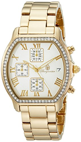 Burgmeister Los Angeles Bm507-219 Ladies Chronograph Gold Plated Beige Dial Date