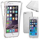 ebestStar - Cover Compatibile con iPhone 6 6S Custodia Protezione Integrale Silicone Gel TPU Morbida e Sottile, Trasparente [Apparecchio: 138.1 x 67 x 6.9mm, 4.7'']