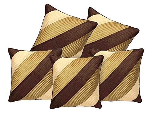 Decor Studioz Premium Geometric Designed Cushion Cover Set of 5 Pcs With...