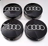 4 x Felge Radmitte Nabenkappen Abdeckung 55mm(Innendurchmesser) Auto Emblem Für Audi