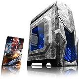 VIBOX Reptile L524-19 PC Gamer Ordinateur avec War Thunder Jeu Bundle (3,9GHz AMD Ryzen Quad-Core Processeur , Graphiques Radeon Vega Intégrés, 8GB DDR4 RAM, 2TB HDD, Sans Système d'Exploitation)