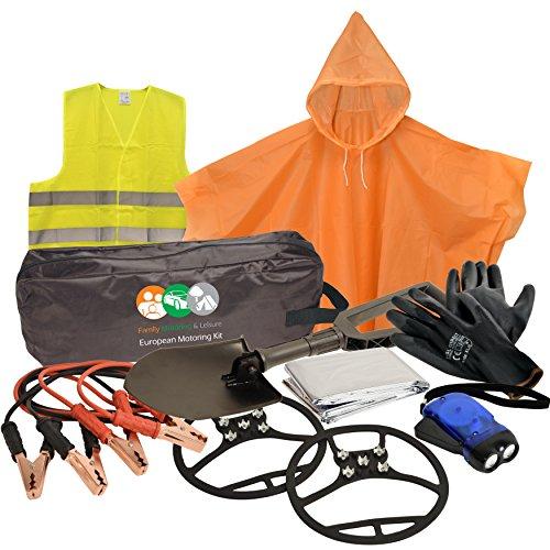 Car Essentials Auto-Pannen-Notfall-Kit für den Winter -