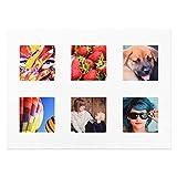 Stoff Foto Quadrate für Patchwork Quilting von happysnapgifts 3 Stück 6 Photos (12.5cm x 12.5cm)