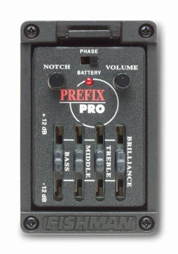 Fishman - Preamplificatore/Pick-up Prefix Pro Onboard, largo