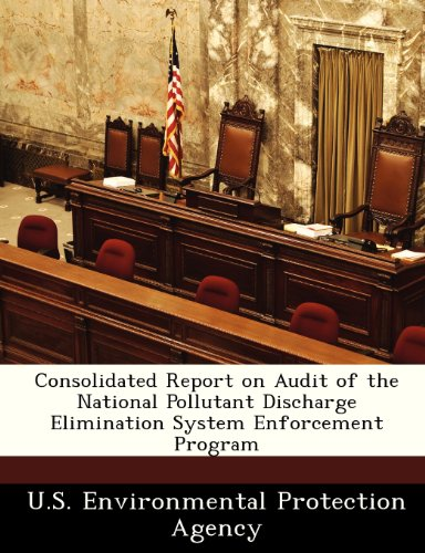 Consolidated Report on Audit of the National Pollutant Discharge Elimination System Enforcement Program
