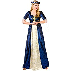 Medieval Maiden - Adult Costume Lady: M (UK:14-16)