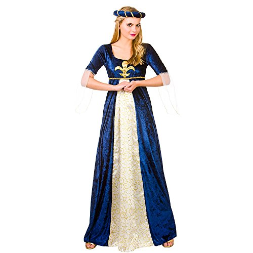 Medieval Maiden Historical Woman Fancy Dress Medium (Et Fancy Dress Kostüm)