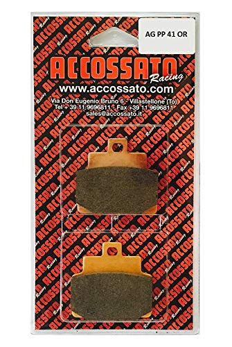 TOP SHOP Accossato Pastiglia AGPP41OR per Motorino Vespaa GTS 250 ABS (2006)