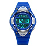 Children's Watches Sport Watch with Stop Watch EL Backlight Alarm Function Time Teacher