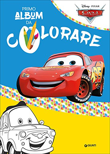 Cars. Il mio primo album da colorare: 1