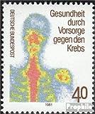RFA (FR.Allemagne) 1089 (complète.Edition.) 1981 cancer-de prévoyance (Timbres pour les collectionneurs) Santé...