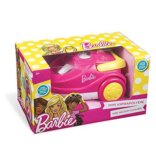 Grandi Giochi- Aspirapolvere di Barbie, GG00532, Colore Rosa