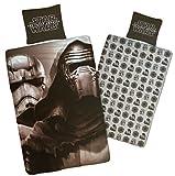 BERONAGE Star Wars Linon Bettwäsche Hyper 135 cm x 200 cm + 80 cm x 80 cm Neu & Ovp Kinderbettwäsche Starwars Clone Kinder-Wende-Bettwäsche