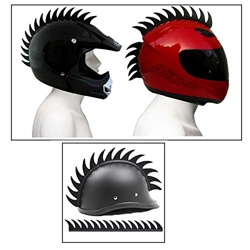 Delhitraderss Cuttable Helmet Mohawk Helmet Spikes Bike Helmet Spikes For-Yamaha RX 100