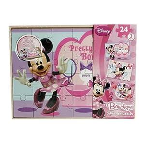 Sambro Minnie único la Tabla de Madera Puzzle