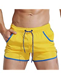 Topgrowth Costumi Da Bagno Uomo Leisure Travel Short Pantaloncini Surf  Pantaloncino Mare Piscina Pantalone da Nuoto 4fe8034be91b