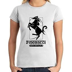 Camiseta de Fibonacci mujer