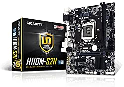 Gigabyte Ga-h110m-s2h Ultra Durable Motherboards