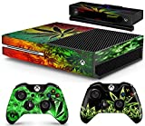 Gizmoz n Gadgetz Xbox WEED Console Skin Decal Sticker + 2 Xbox One Controller Skins & Kinect