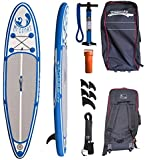 All round SUP inflatable paddleboard McConks No1 10'8