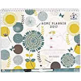 2016/2017 Organised Mum Home Planner Academic Calendar. Month-to-view family calendar. Starts with academic school year (runs September '16 until December '17). Family organiser with large spaces, stickers, paperwork pocket and clip-on pen.