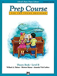 Alfred Prep Course Theory Book Level B --- Piano - Palmer, Manus & Lethco --- Alfred Publishing