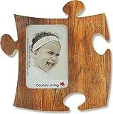 Puzzle Rahmen, 9x13cm - Eiche-alt