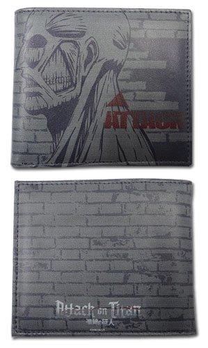 Portafogli dall'Anime Attack on Titan, Titan, motivo ufficiale ge61792 carenze