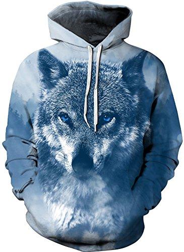 Edle Markendecke - Sweat à capuche - Femme Sibirische Wolf