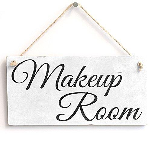 Meijiafei Make-up Zimmer-Vintage PVC Schild/Plakette 25,4x 12,7cm - Schild-dressing