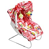 Carry Cot, Rocker and Rocker 9 in 1 - Red Color