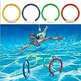 bonytain 1PC Dive Ring Schwimmbad Spielzeug Hilfe für Kinder Wasser Sport Tauchen Beach Summer Spielzeug Pool