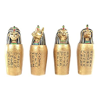 WindsorTech - Gold Egyptian Canopic Jar